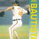 1992 Fleer 2 Jose Bautista