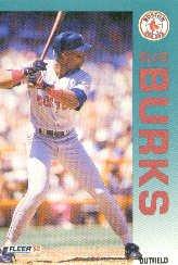 1992 Fleer 35 Ellis Burks