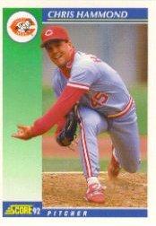 1992 Score #513 Chris Hammond