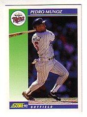 1992 Score #514 Pedro Munoz