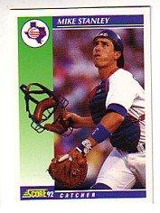 1992 Score #549 Mike Stanley