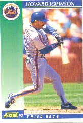 1992 Score #550 Howard Johnson