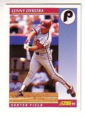 1992 Score #560 Len Dykstra