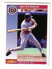 1992 Score #569 Skeeter Barnes