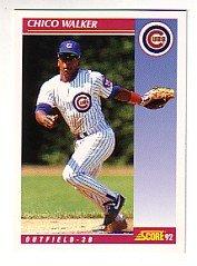 1992 Score #578 Chico Walker