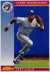 1992 Score #591 Candy Maldonado