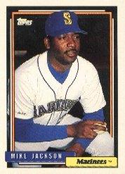 1992 Topps 411 Mike Jackson