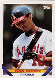 1993 Topps 293 Rob Ducey