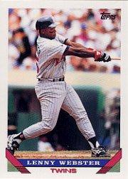 1993 Topps 37 Lenny Webster