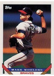 1993 Topps 8 Mark Wohlers