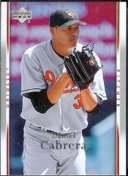 2007 Upper Deck #63 Daniel Cabrera