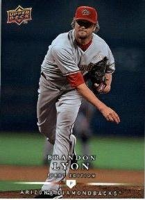 2008 Upper Deck First Edition #78 Brandon Lyon