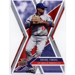 2008 Upper Deck X Die Cut #55 Rafael Furcal