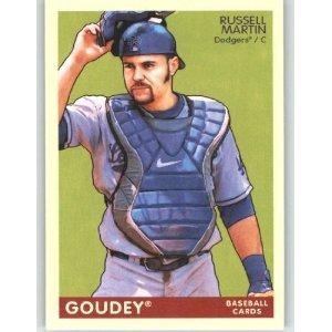 2009 Upper Deck Goudey #97 Russell Martin