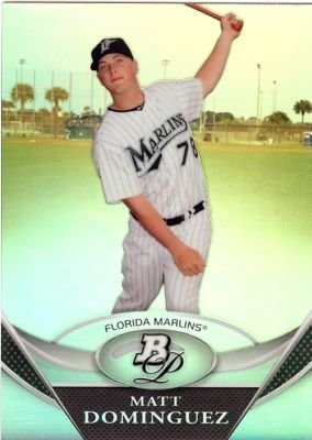 2011 Bowman Platinum Prospects #BPP40 Matt Dominguez