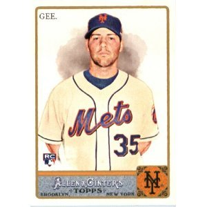 2011 Topps Allen and Ginter #27 Dillon Gee RC