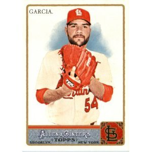 2011 Topps Allen and Ginter #303 Jaime Garcia SP
