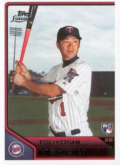 2011 Topps Lineage #24 Tsuyoshi Nishioka RC