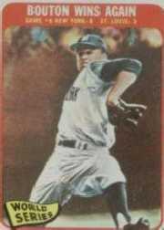 1965 Topps #137 World Series Game 6 (Jim Bouton)