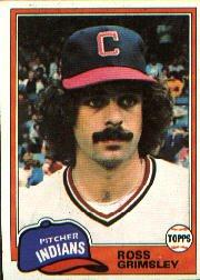 1981 Topps #170 Ross Grimsley