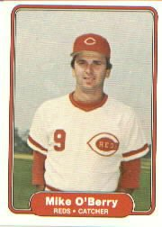 1982 Fleer #78 Mike O'Berry