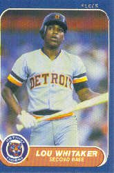 1986 Fleer #293 Mark Bailey