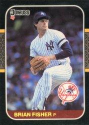 1987 Donruss #340 Brian Fisher