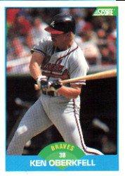 1989 Score #139 Ken Oberkfell