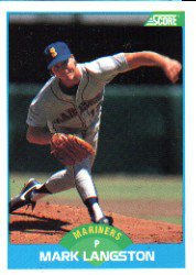 1989 Score #161 Mark Langston