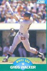 1989 Score #37 Greg Walker