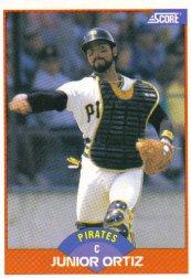 1989 Score #402 Junior Ortiz