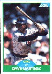 1989 Score #77 Dave Martinez
