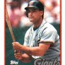 1989 Topps 158 Mike Aldrete