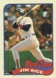 1989 Topps 245 Jim Rice