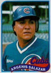 1989 Topps 642 Angel Salazar