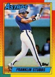 1990 Topps 56 Franklin Stubbs