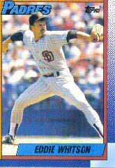 1990 Topps 618 Ed Whitson