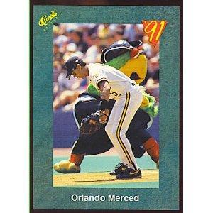 1991 Classic III #T57 Orlando Merced