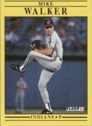 1991 Fleer 381 Mike Walker