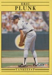 1991 Fleer 676 Eric Plunk