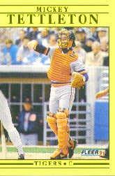 1991 Fleer Update #24 Mickey Tettleton