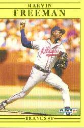 1991 Fleer Update #73 Marvin Freeman