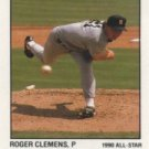 1991 Panini Stickers #215 Roger Clemens