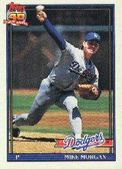 1991 Topps 631 Mike Morgan