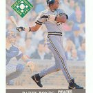 1991 Ultra #391 Barry Bonds EP