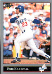 1992 Leaf #293 Eric Karros