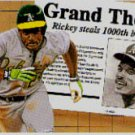 1992 Upper Deck #782 Rickey Henderson 1000