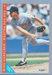 1993 Fleer #558 Mike Gardiner