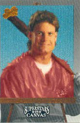 1993 Studio Superstars on Canvas #7 Darren Daulton