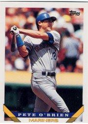 1993 Topps 125 Pete O'Brien